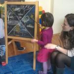 Ora de engleza la Gradinita Irina