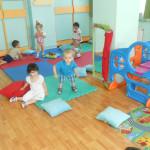 Facem gimnastica la Cresa Irina