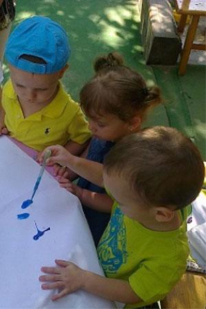 Gradinita Irina - desenul - incurajarea creativitatii