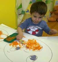 Gradinita Irina - micul artist - picture cu obiecte