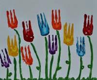 Gradinita Irina - micul artist - pictura dupa obiectele din bucatarie
